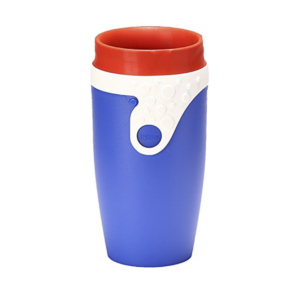 TWIZZ by Neolid Jeannot, Travel Mug, 16.5 x 8 cm, 350 ml, Blue/White/Red